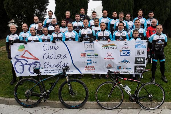 Inicio temporada 2014 Club Ciclista Binéfar